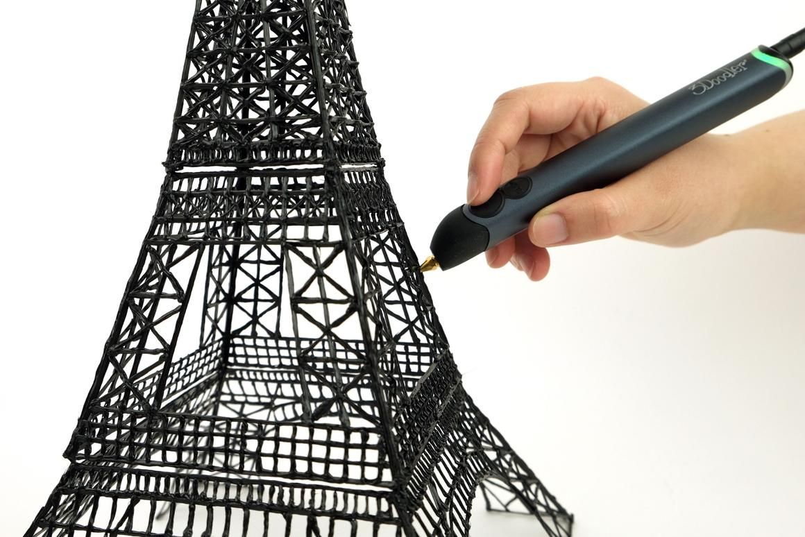 Wobbleworks has announced its latest 3D sketching pen - the 3Doodler Create
