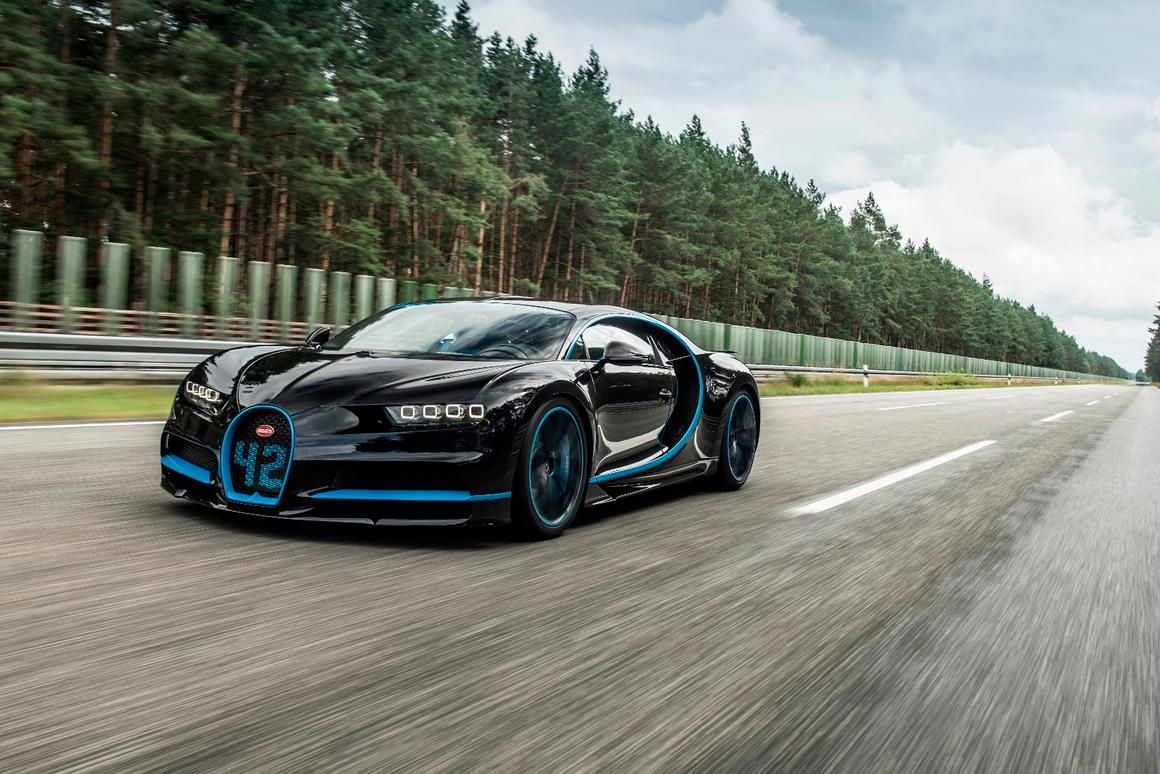 The Chiron hit 400 km/h in just over 30 seconds