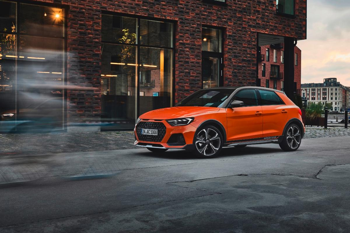 Audi's new lifted hatch for the young, urban types
