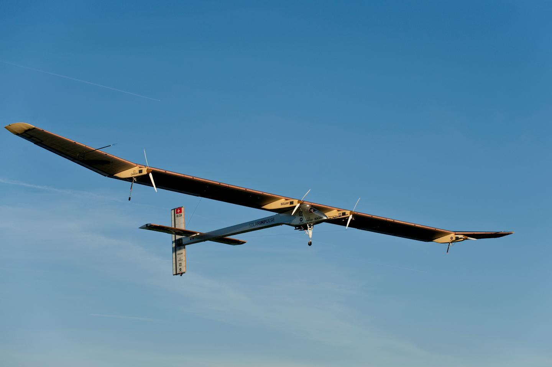 The Solar Impulse HB-SIA solar-powered aircraft (Photo: Solar Impulse)