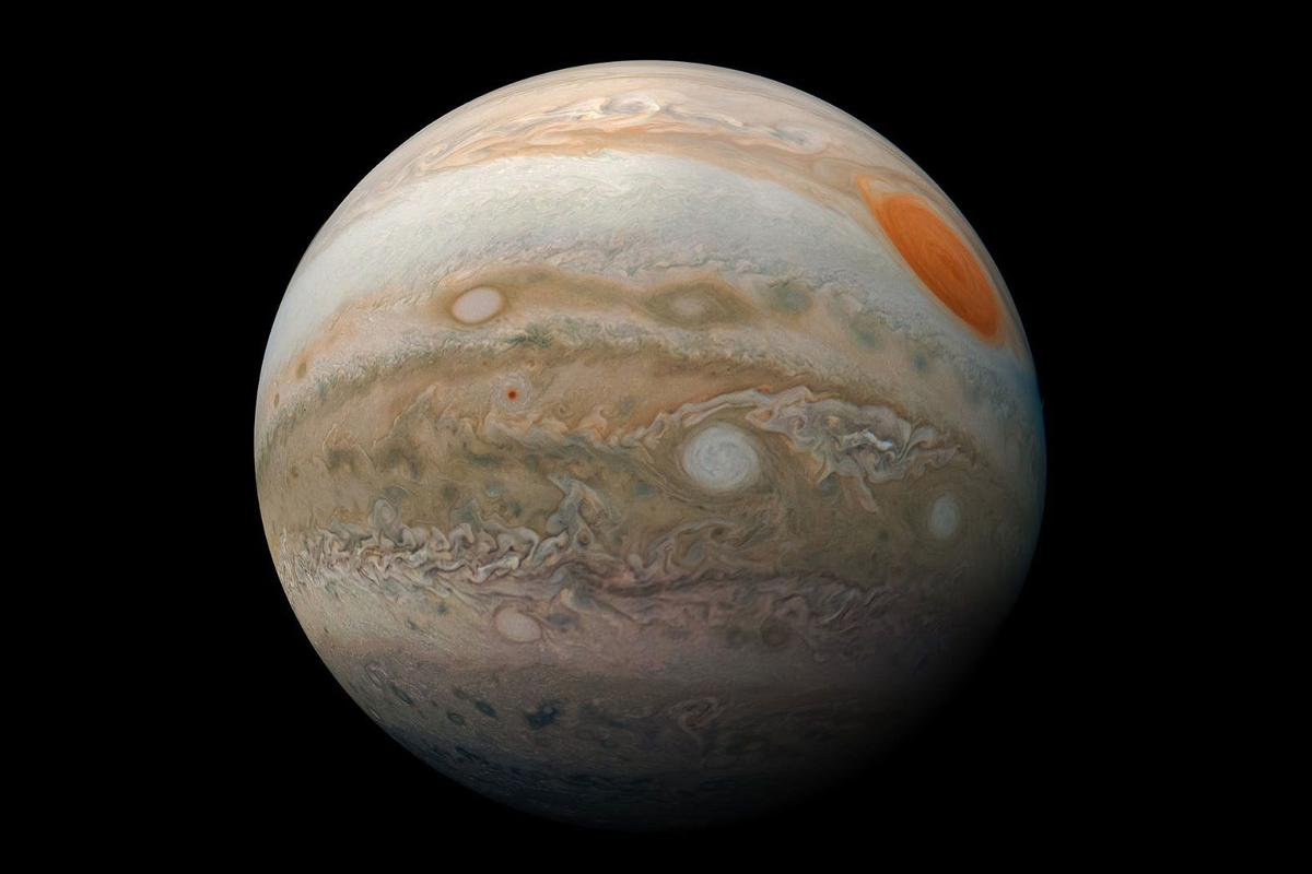 A new theory suggests that Jupiter formed five times further from the Sun than its current position, before migrating inwards