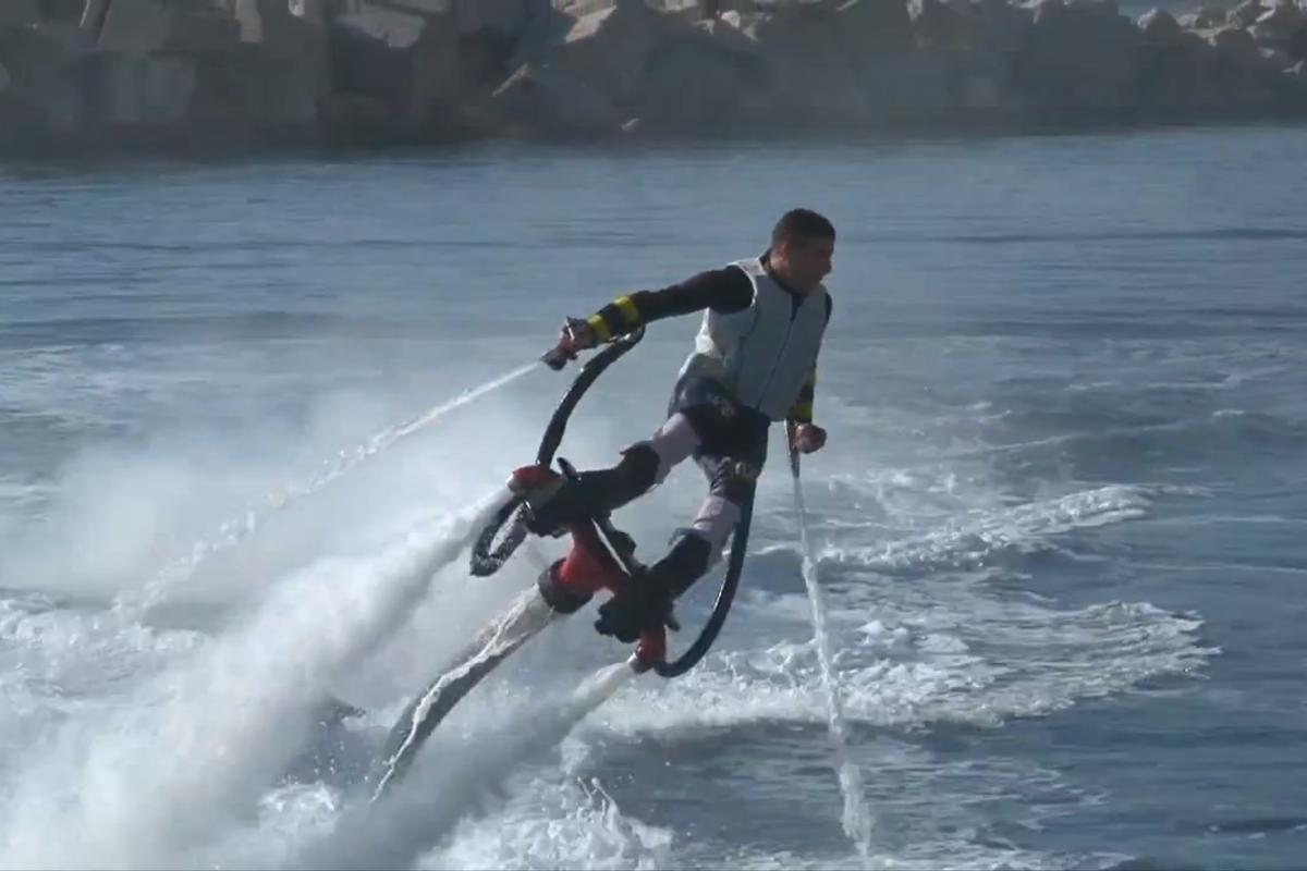 The Zapata Flyboard: Aquaman meets Iron Man