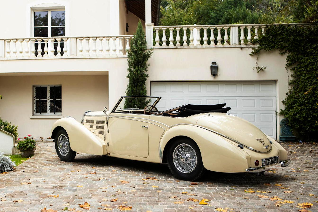 1939 Bugatti Type 57C Stelvio Cabriolet
