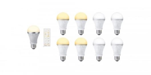 Sharp's new range of LED lights will allow you to adjust color and light