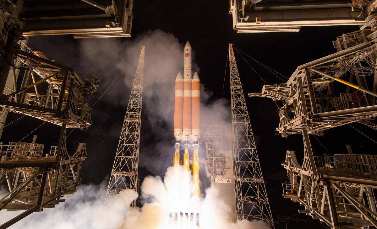 TheSolar Parker Probe blasts off from Cape Canaveral