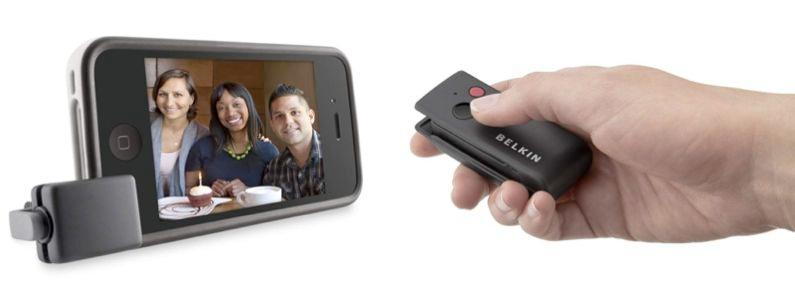 Belkin's LiveAction Camera Remote allows iPhone users to remotely trigger their camera phone