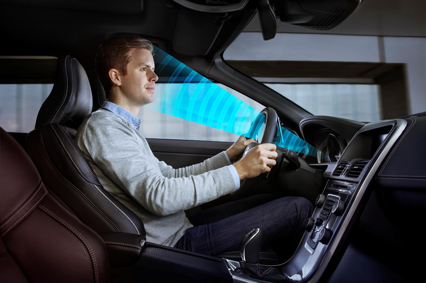 Volvo Driver State Estimation uses a dash-mounted infrared sensor