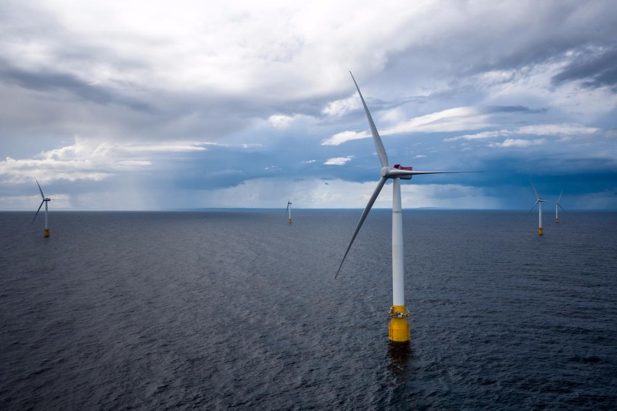 Hywind Scotland, the world's first floating wind farm, has just been fired up