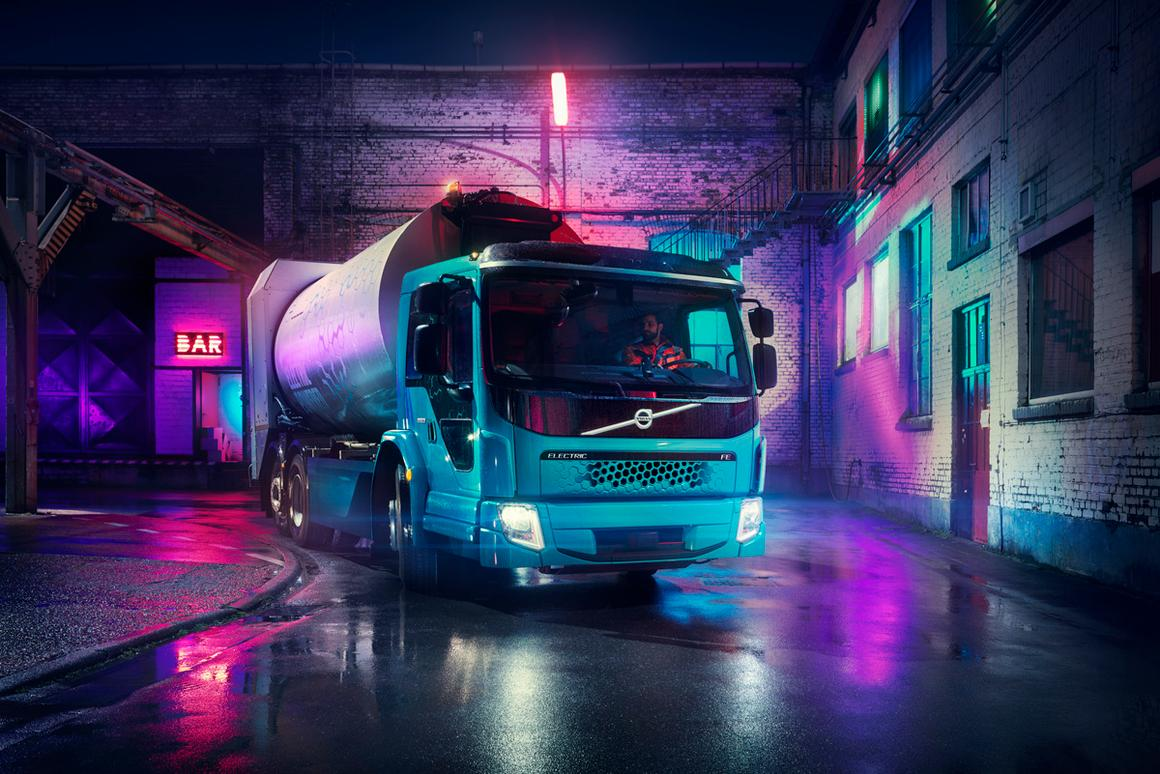 The Volvo FE Electric will be available in different variants depending on the job at hand