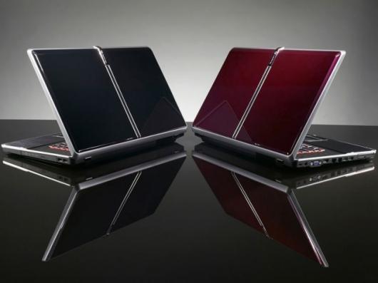 The black MC7803u and burgundy MC7801u from Gateway.