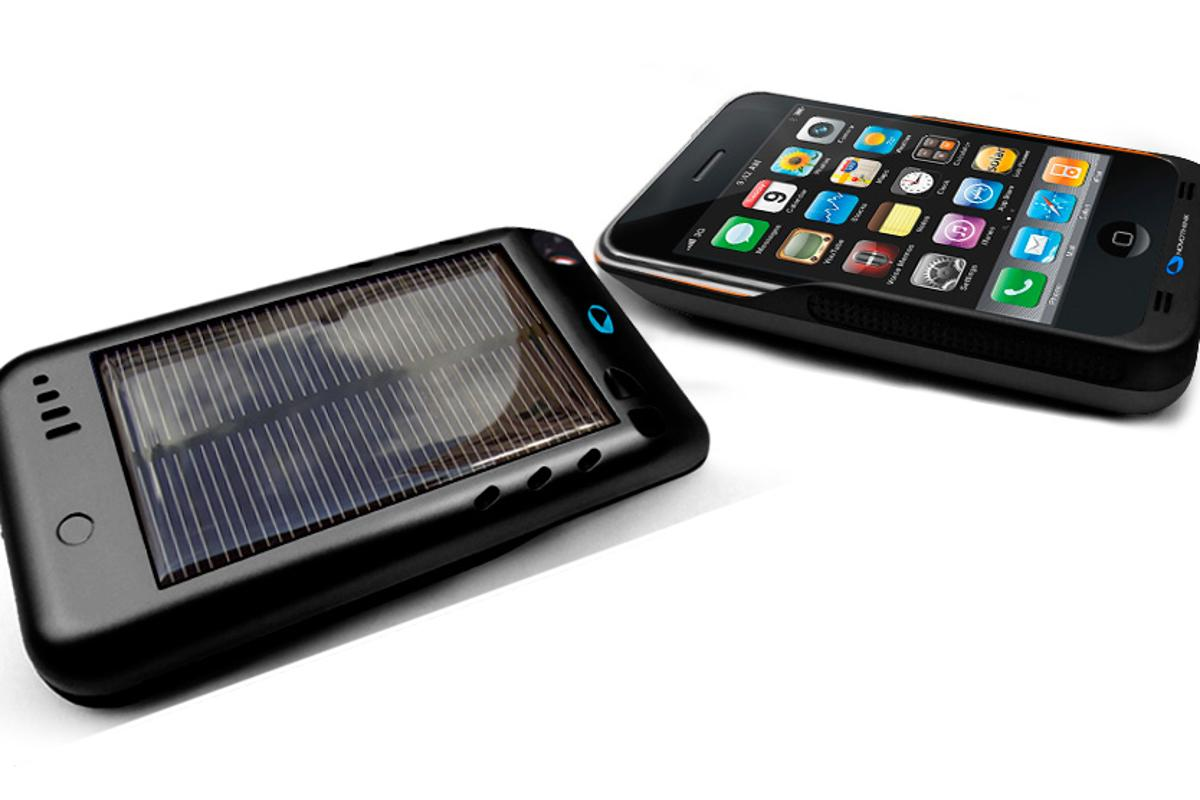 Solar Surge - a sunny solution to iPhone charging