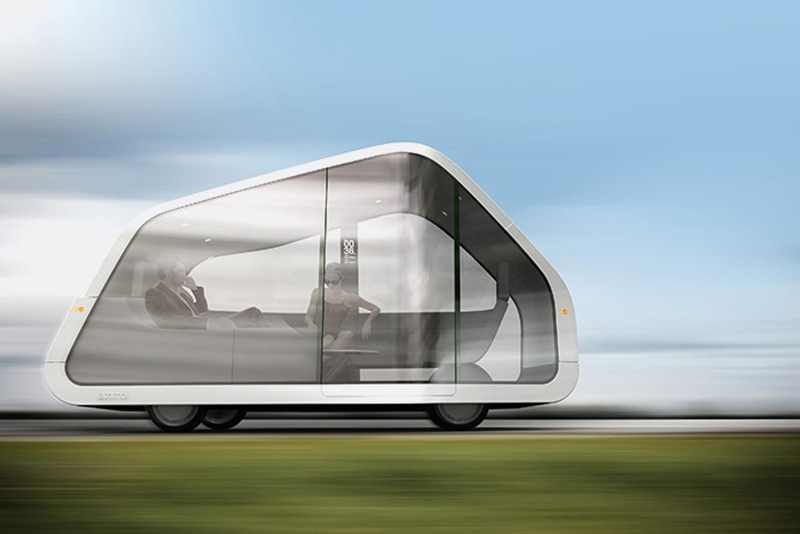 The Autonomobile concept passenger vehicle will take care of all the driving and navigation, leaving those onboard to just sit back and enjoy the ride