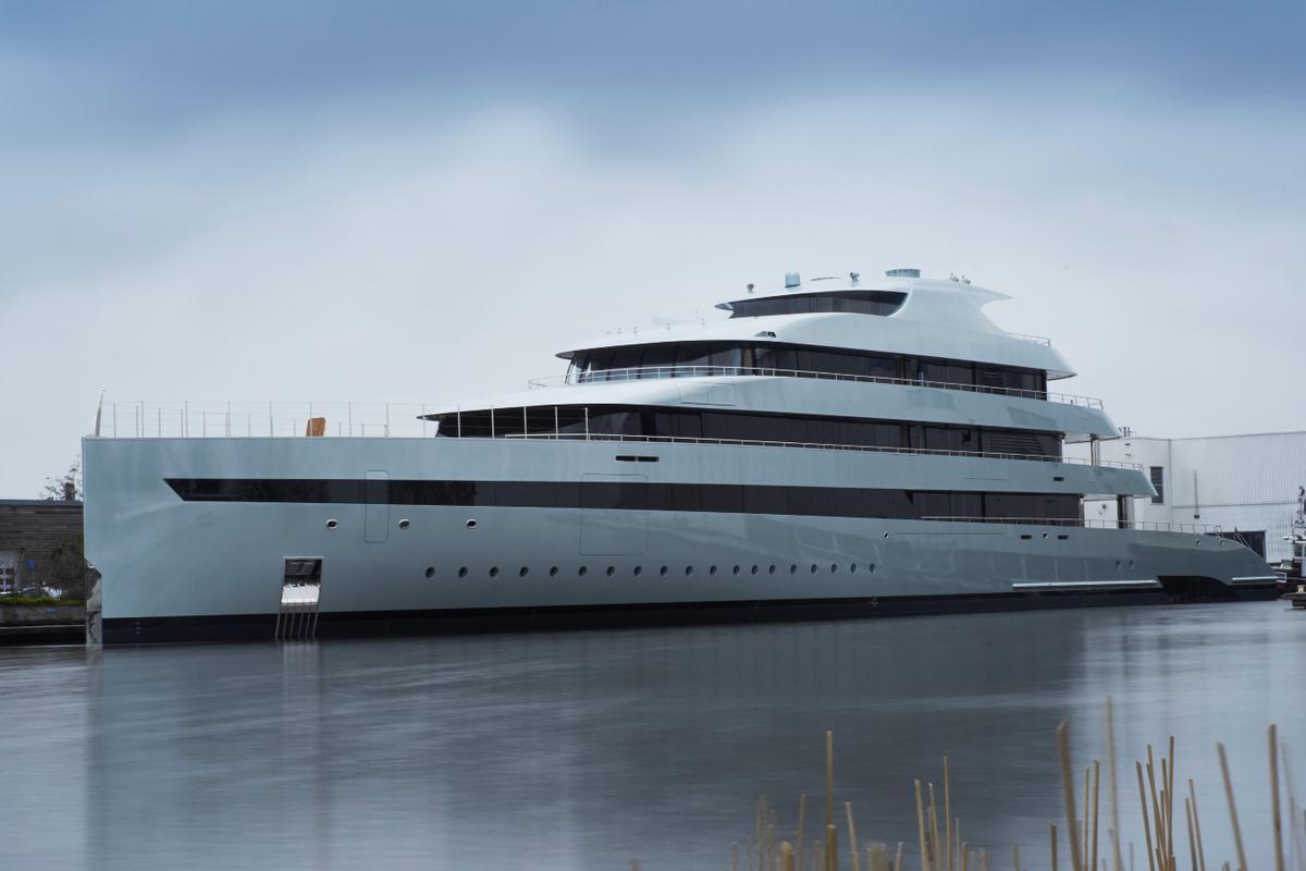 The Savannah is the first hybrid superyacht