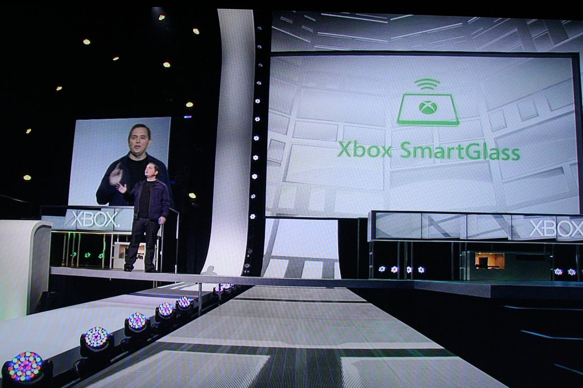 Microsoft used its E3 press conference to unveil its new SmartGlass technology that will use handheld devices such as smartphones and tablets as both an Xbox control device and as a second screen for the display of dynamic, rich information