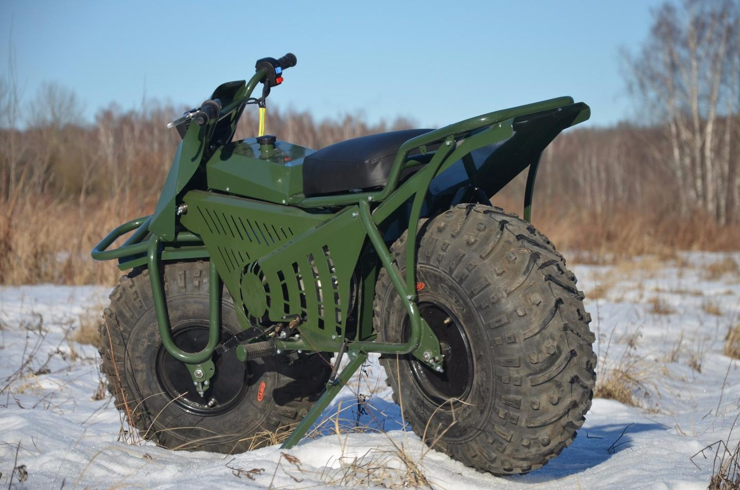 Taurus 2x2: uniquely Russian approach to off-road motorcycling