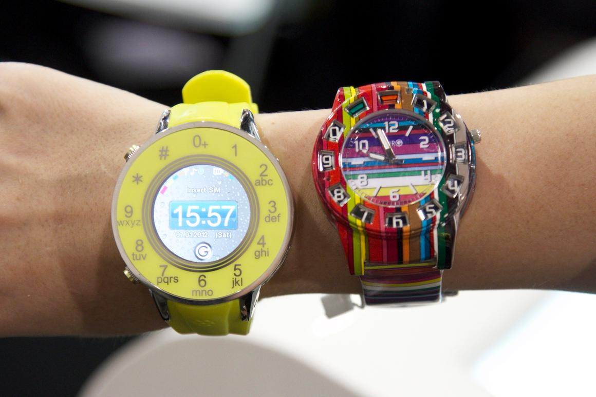 Burg Neon watch phones
