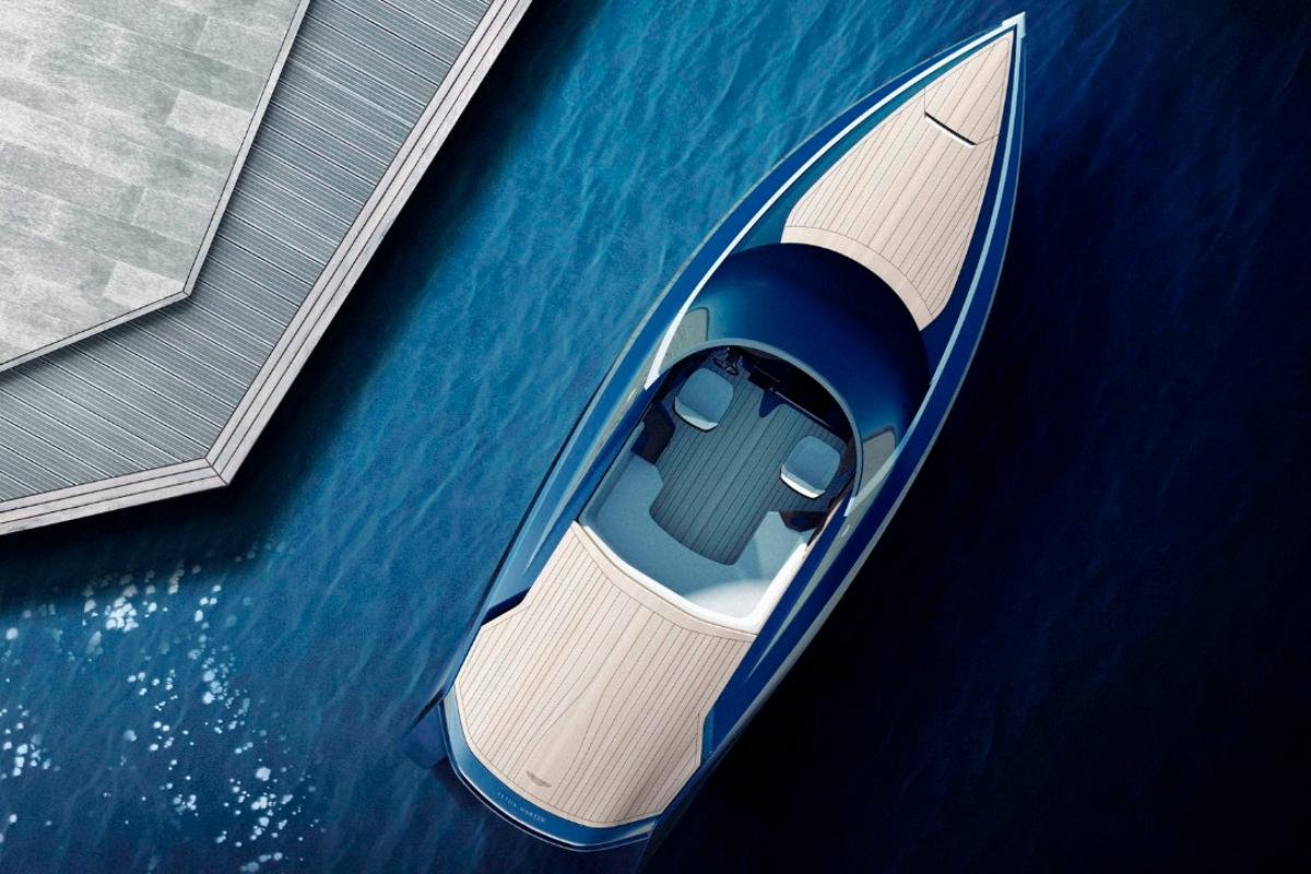 Aston Martin is teaming with a couple of Dutch companies to produce a 37-ft powerboat