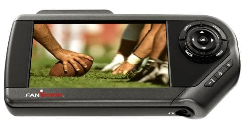 The FanVision handheld video device