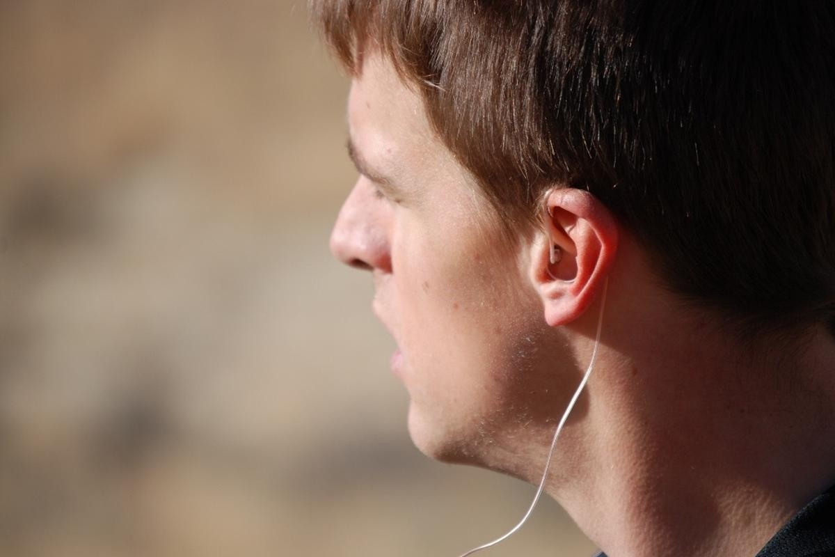 earHero earphones don't block the entire ear canal, reportedly allowing users to still hear outside noises