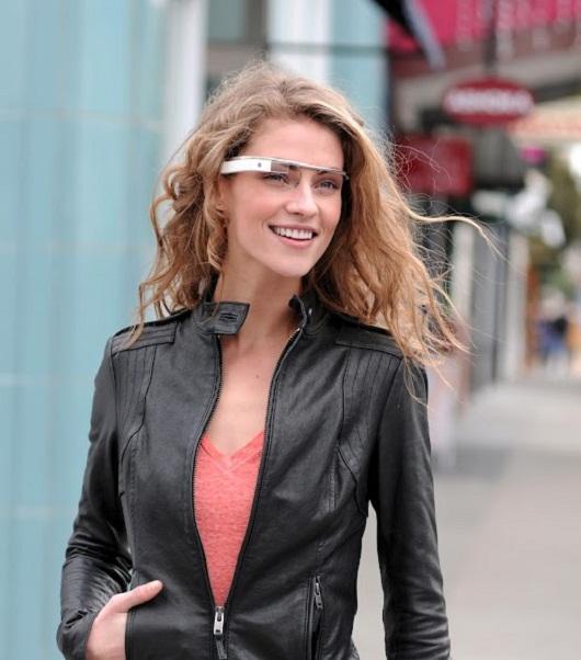 Google Project Glass prototype