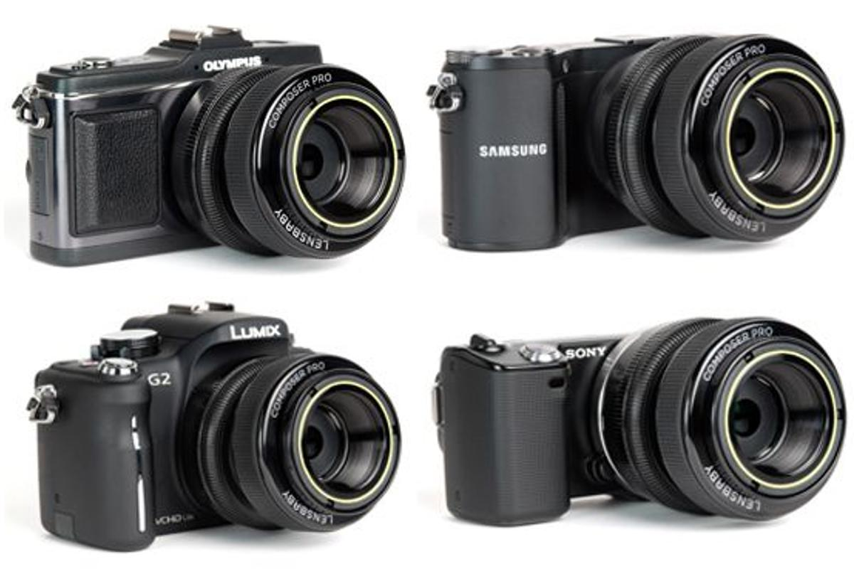 Lensbaby's Composer Pro is now available for mirrorless interchangeable lens cameras
