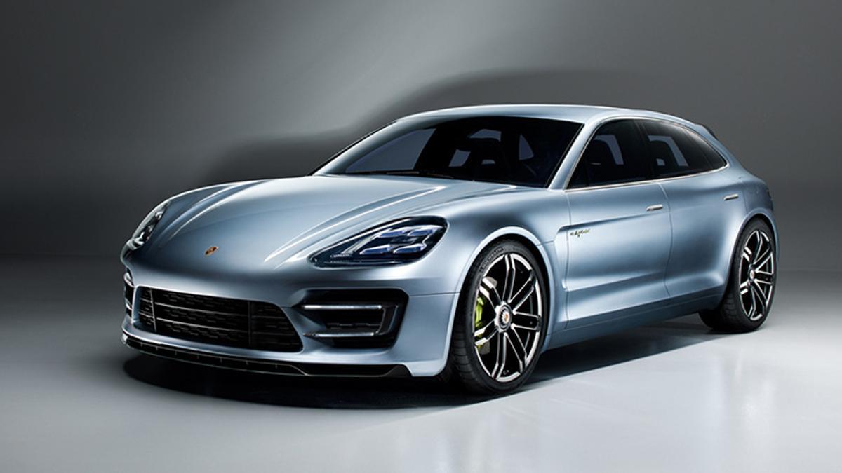 Porsche Panamera Sport Tourismo concept vehicle