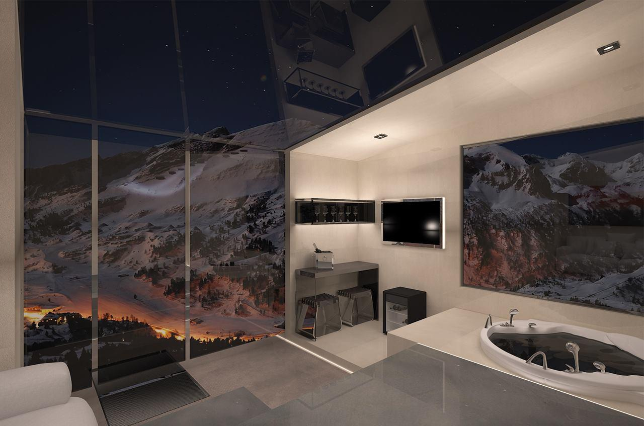 The Snowsuite Giano could offer views that more permanent structures just can't compete with