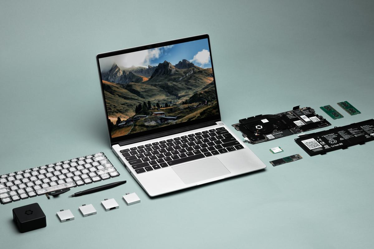 The Framework Laptop is designed to be customized, upgraded and repaired