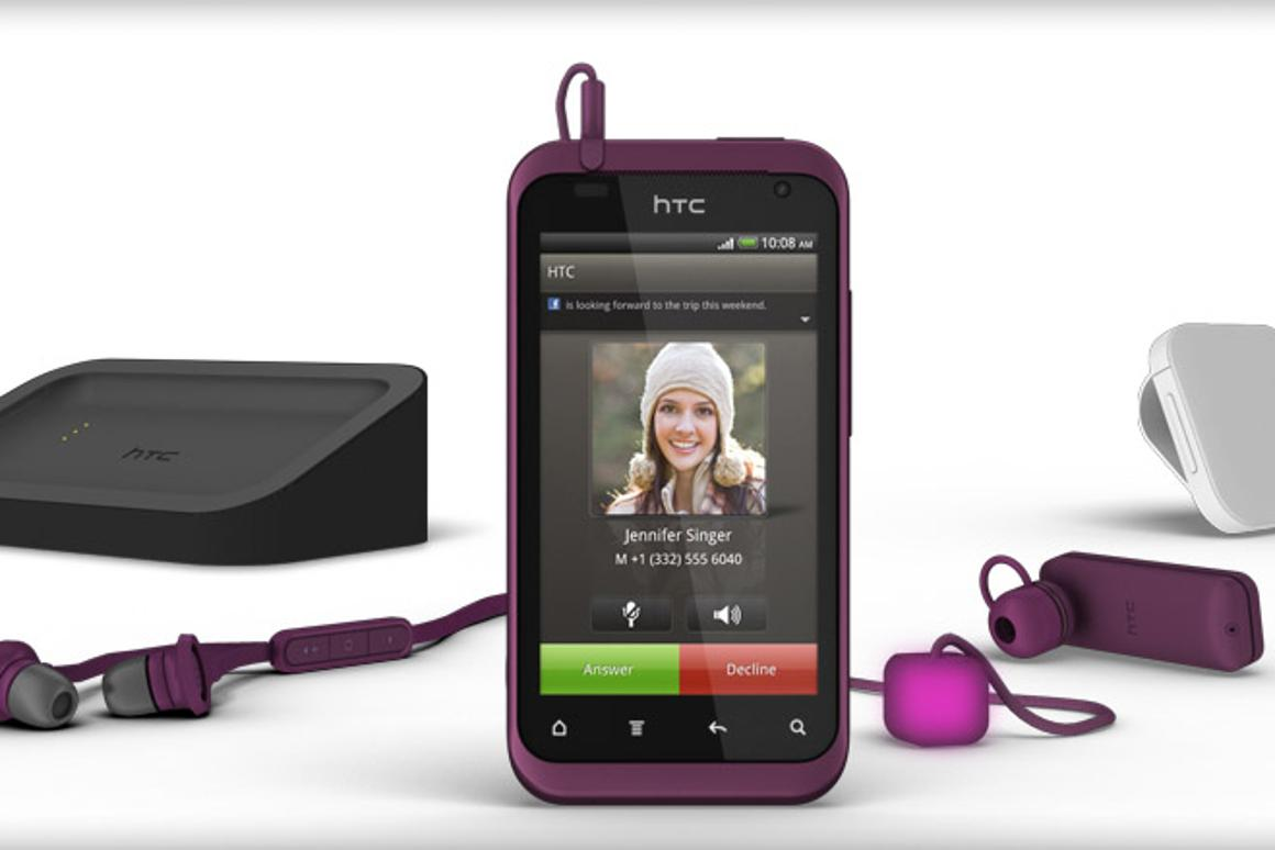 HTC has unveiled the Rhyme, featuring a 3.7-inch super LCD touchscreen, refreshed HTC Sense 3.5 and matching accessories lineup