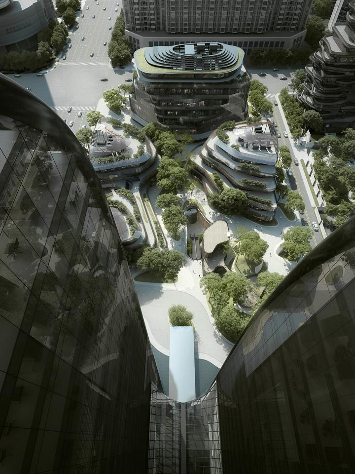 Chinese architectural firm MAD has started work on an ambitious new project that aims to add some nature-themed architecture to inner-city Beijing (Image: MAD)