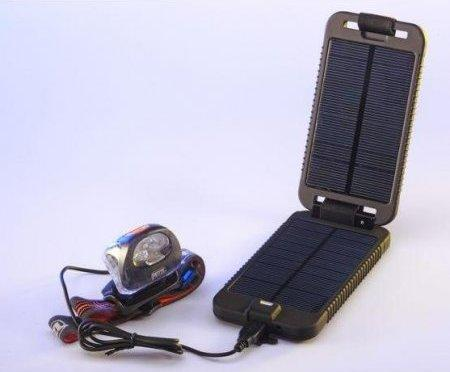 The Solarmonkey Adventurer keeps your electronics running all over the map