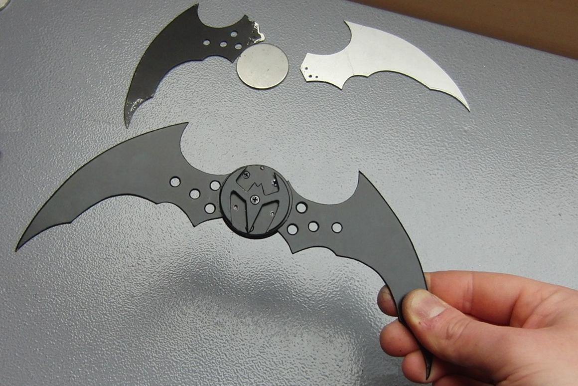 The batarang, open for business