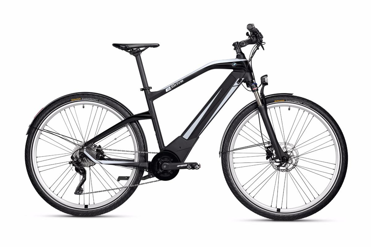 The BMW Active Hybrid e-bike hides a removable battery and motor inside its frame