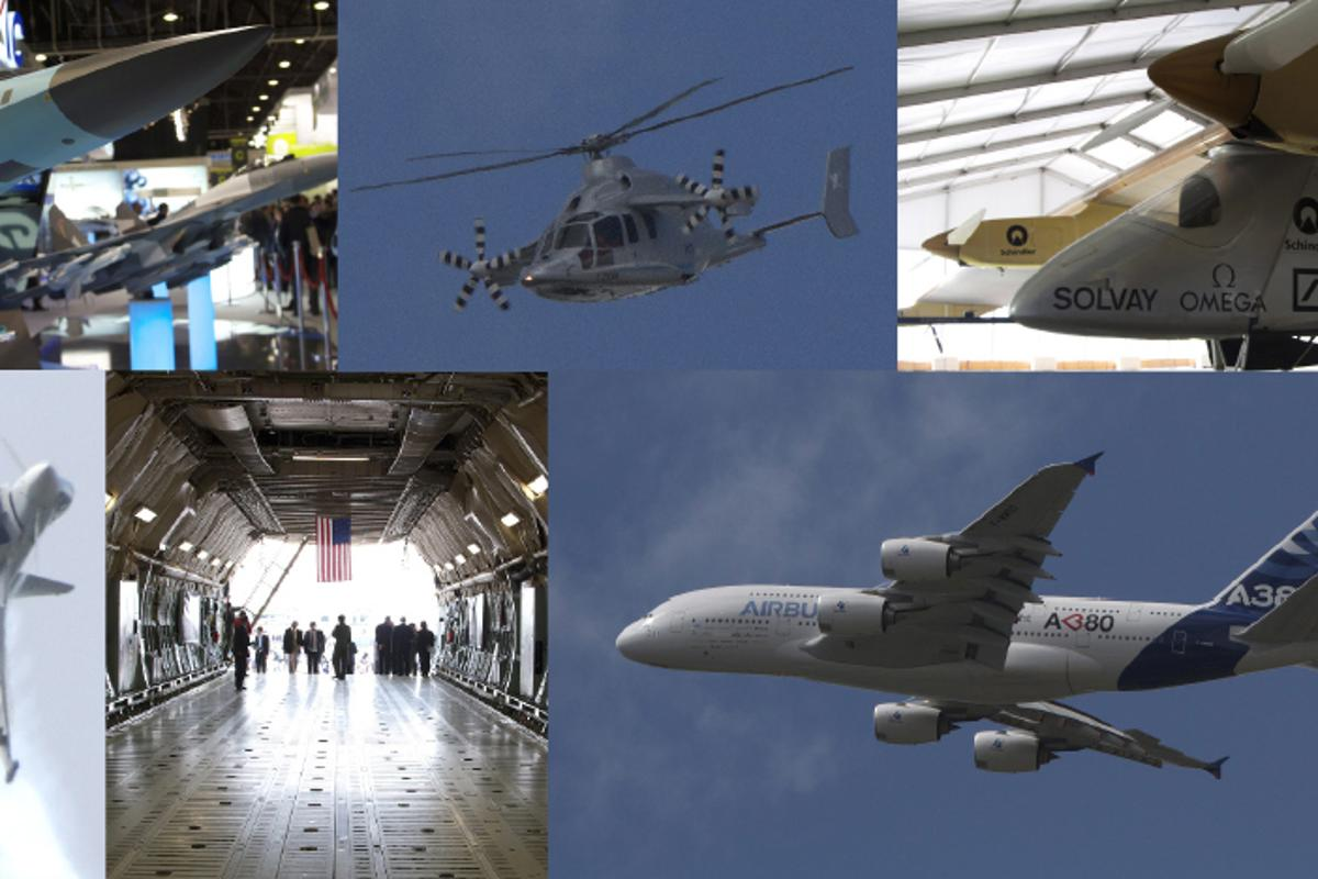 Photo highlights from the 49th Paris International Airshow
