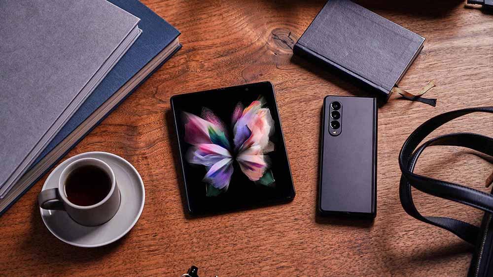 Th Samsung Galaxy Z Fold3 starts at US$1,799.99