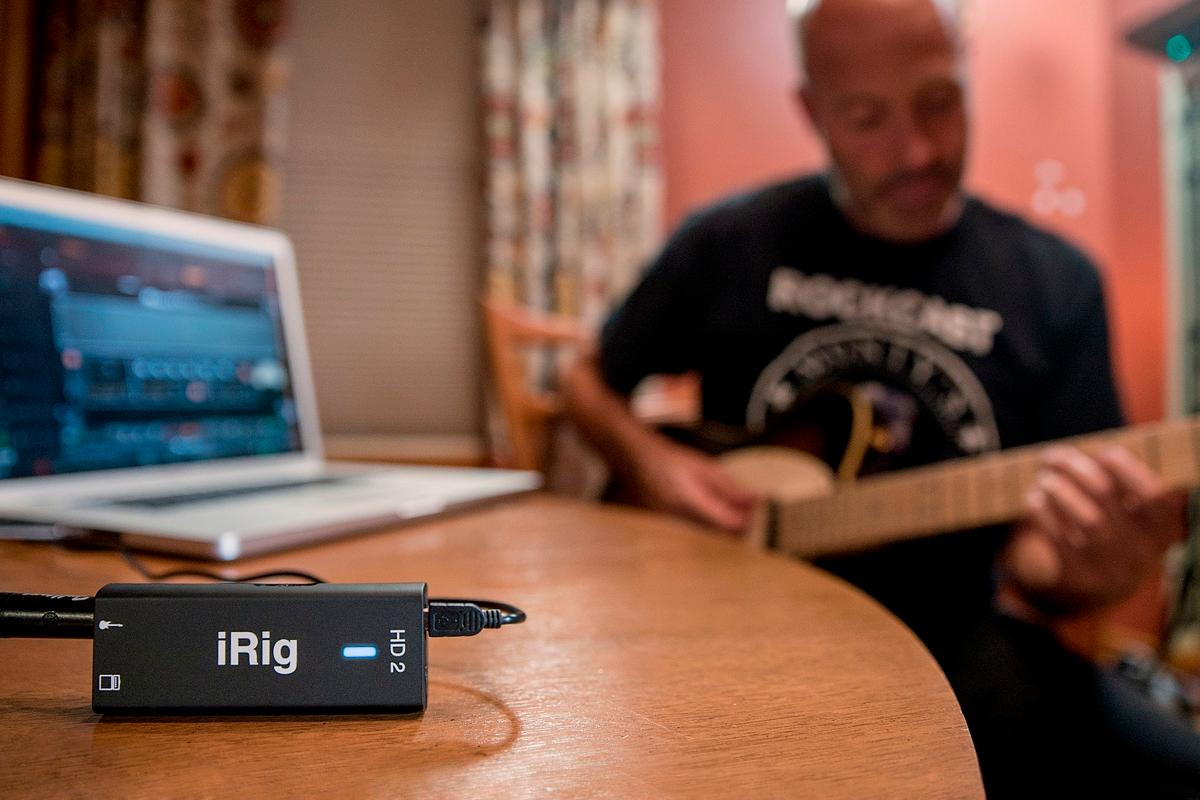 The iRig HD 2 digital guitar/bass interface is scheduled to ship later this month