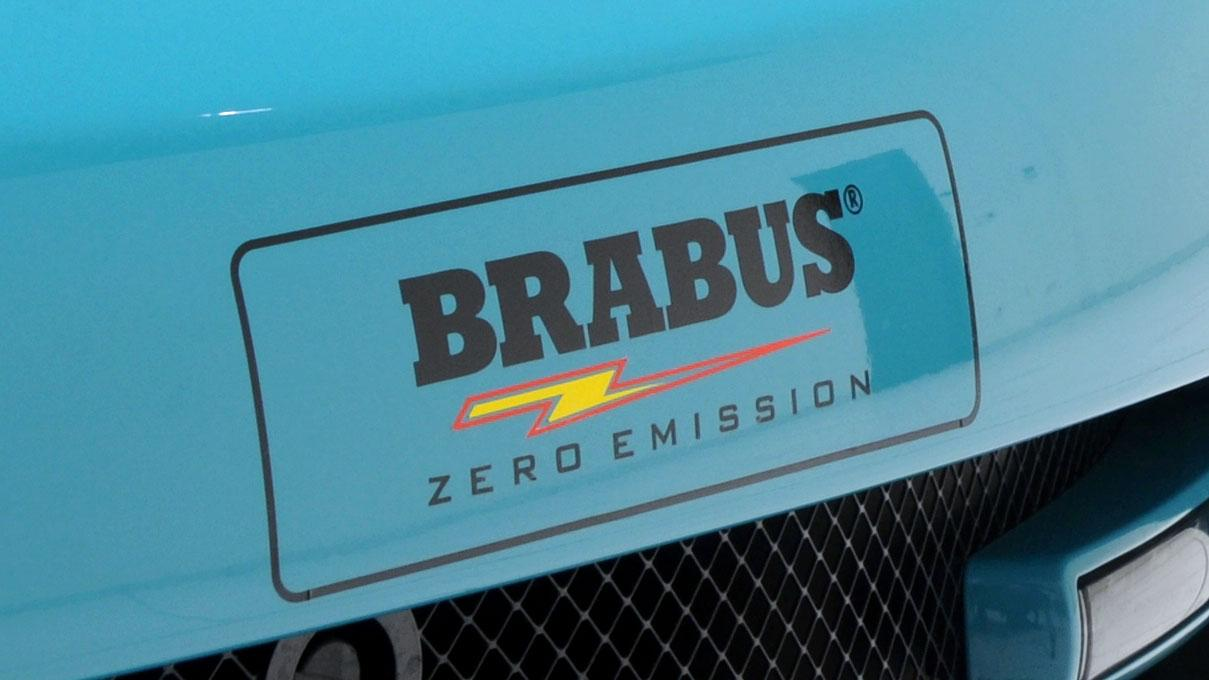 The TESLA Roadster Sport BRABUS Green Package