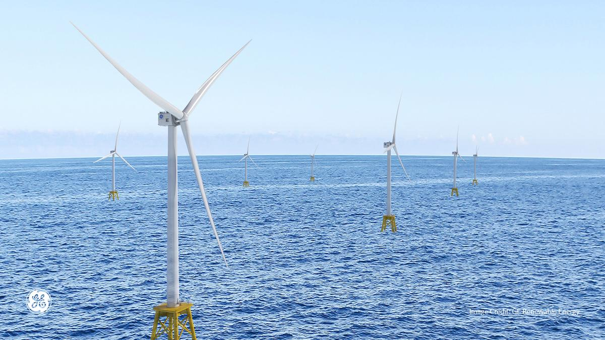 The Dogger Bank Wind Farm will make use of GE Renewable's Haliade-X, the world's most powerful wind turbine