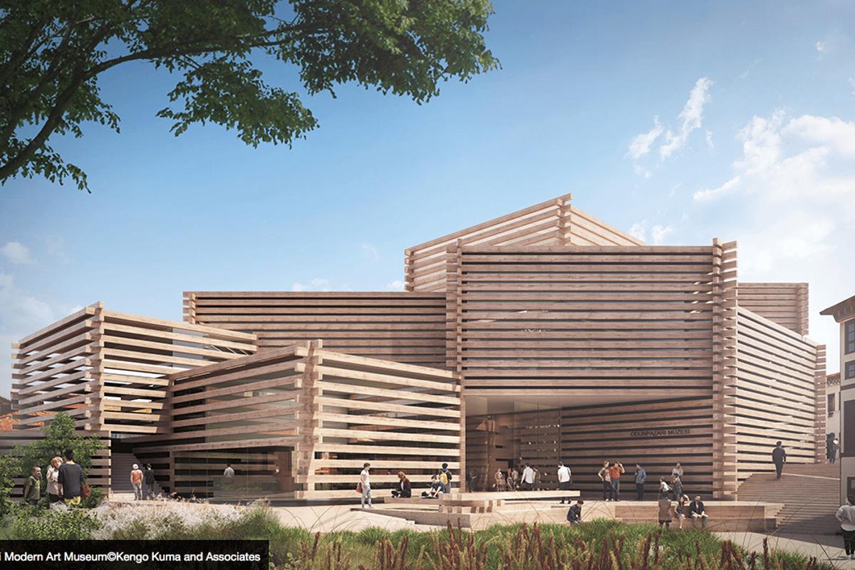 The Odunpazari Modern Art Museum is slated for Eskisehir in northwest Turkey