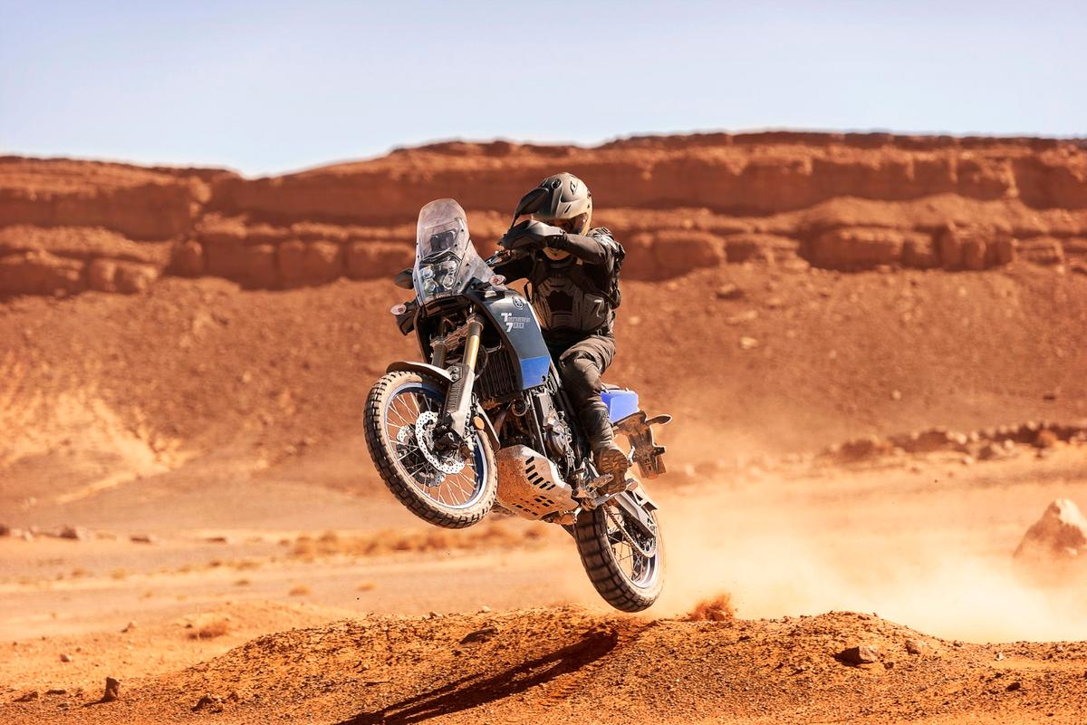 Yamaha's Ténéré 700 is a middleweight adventure machine for people who really want to go off-road