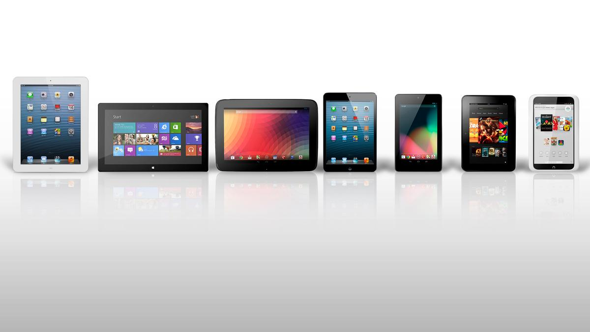 How do the top tablets of 2012 compare?