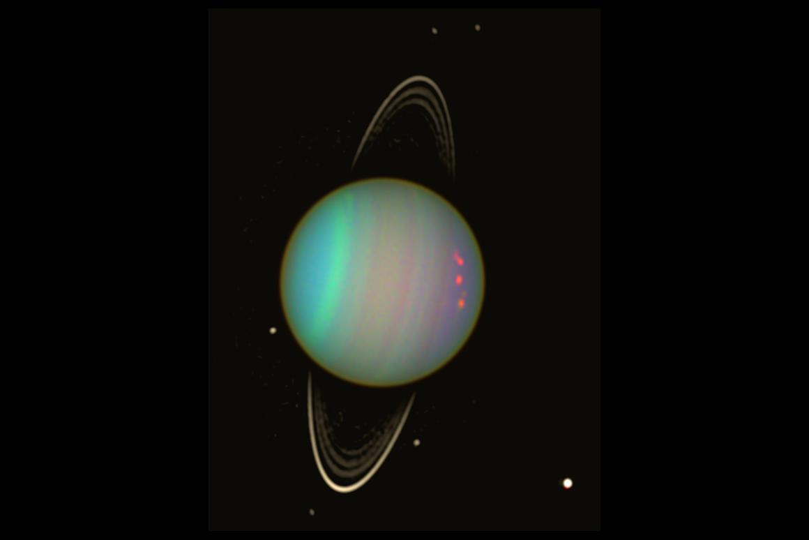 Already the subject of much schoolyard sniggering, spectroscopic analysis now indicates that Uranus smells like rotten eggs