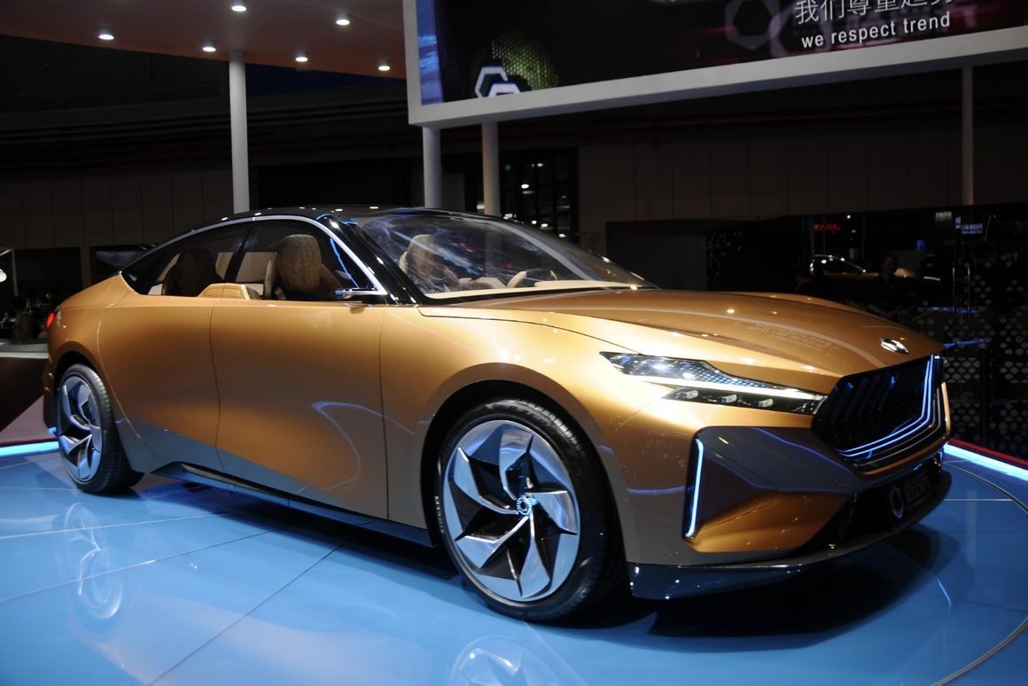 Designed by Pininfarina, Grove's first concept heralds a range of Hydrogen-powered cars