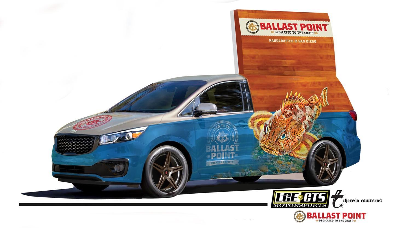 Kia designed the Ballast Point Sedona for last year's SEMA Show