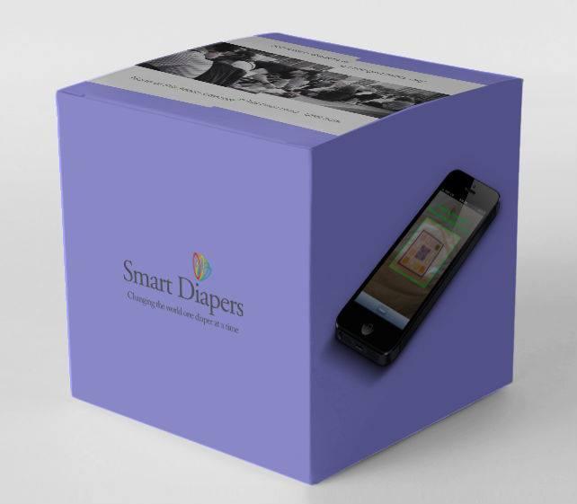 Smart Diaper packaging