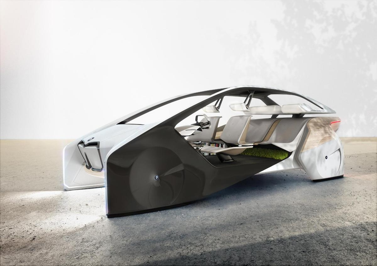 With the BMW i Inside Future sculpture, the German automaker is showcasing its latest vision of the automotive future