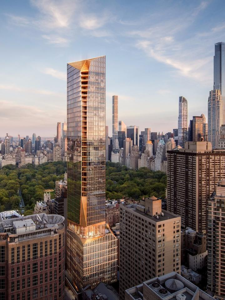 Manhattan's famous skyline has long and strong ties to the surface bedrock that spreads across much of the city