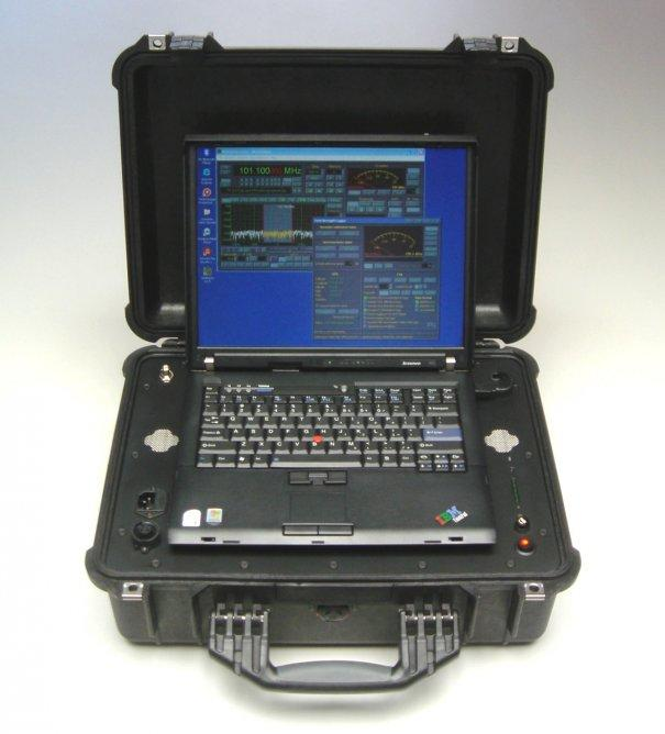 The WiNRADiO PFSL-G3 Portable Field Strength Logging and Surveillance System