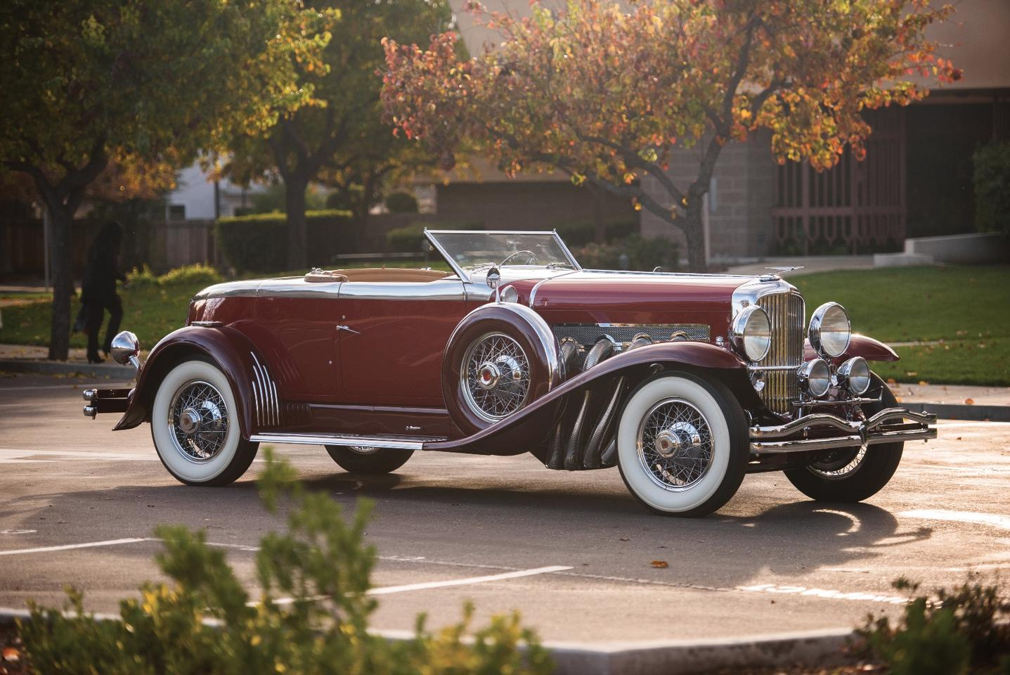 The Duesenberg Model J was an American take on the classic luxury car