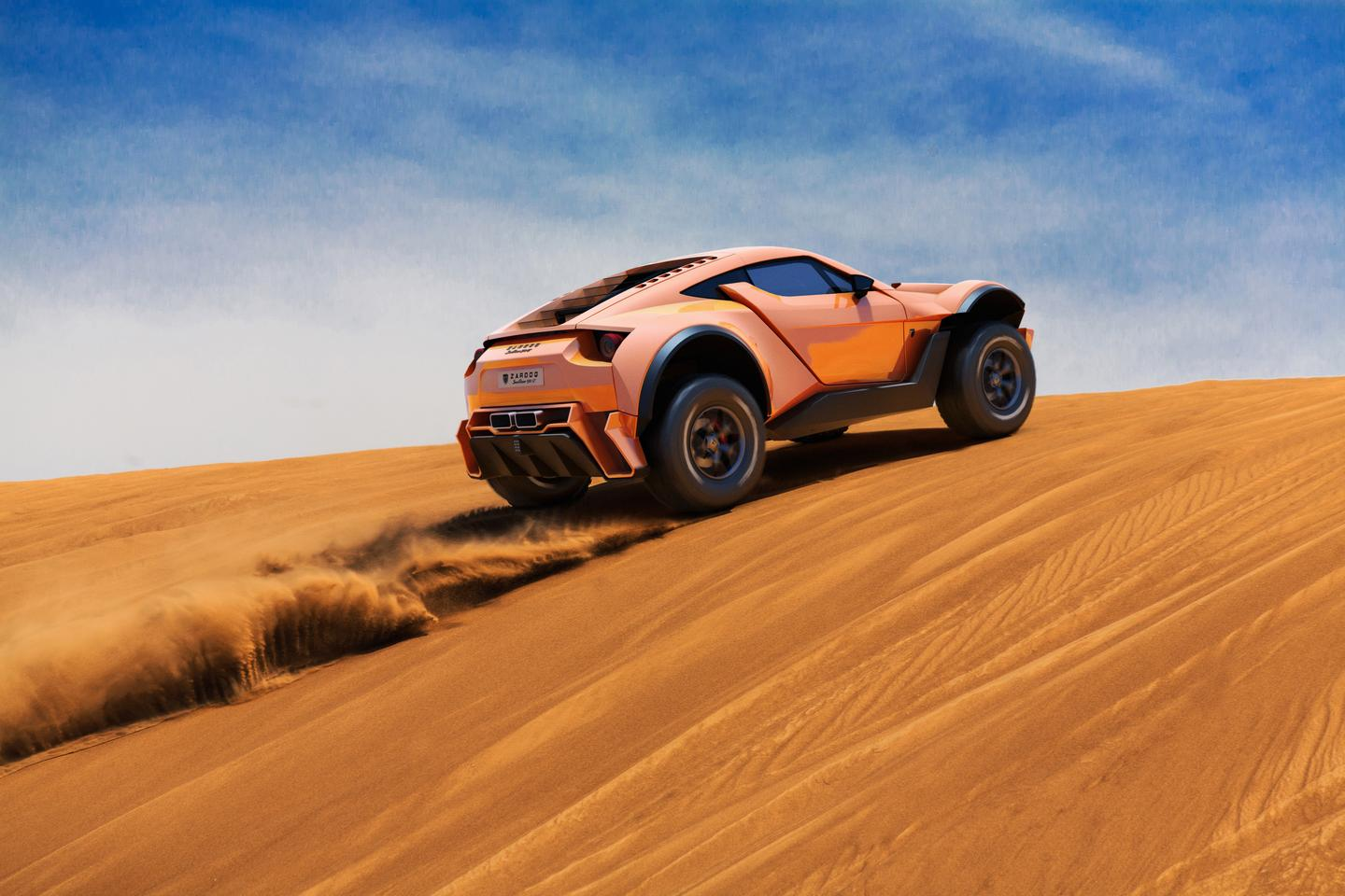 Zarooq says it is ready to start production on its SandRacer 500 GT